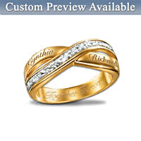 Eternity Double Band Personalised Diamond Ring
