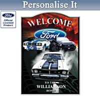Ford GT Welcome Sign
