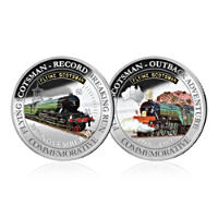 Flying Scotsman Silver Set