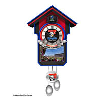 Newcastle Knights Wall Clock with Sound and Movement