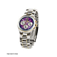 Melbourne Storm Watch with Official Club Emblem and Motto
