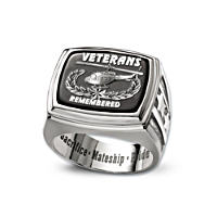 Veterans Remembered Men\'s Ring