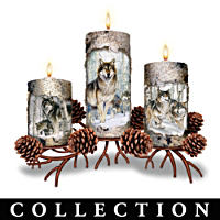 Winter\'s Glow Candleholder Collection