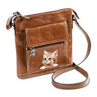 \'Kitten Couture\' Crossbody Bag
