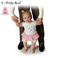 \'Isabella\'s First Steps\' Interactive Walking Baby Doll