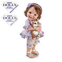 \'Welcome Home, Kitty\' Poseable Child Doll