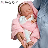 \'Cuddle Caitlyn\' Warming Feature Baby Doll