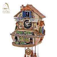 Flying Scotsman \'Memories Of Steam\' Cuckoo Clock