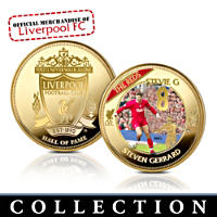 \'Liverpool FC Hall Of Fame\' Commemorative Collection