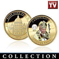The Holy Journey of Pope John Paul II Medallion Collection