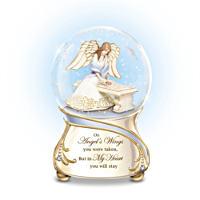 \'Forever In My Heart\' Musical Glitter Globe