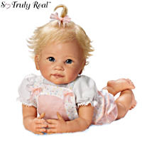 Linda Murray \'Addie\'s Tummy Time\' Poseable Doll