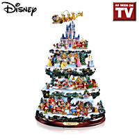 The \'Wonderful World Of Disney\' Christmas Tree