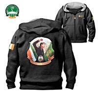 \'Michael Collins\' Men\'s Hooded Jacket