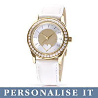 \'My Daughter, I Wish You\' Personalised Ladies Watch