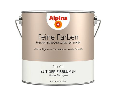 Alpina wandfarbe trockenzeit
