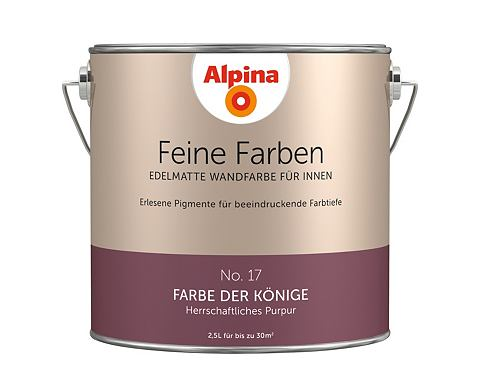 Alpina wandfarbe latex