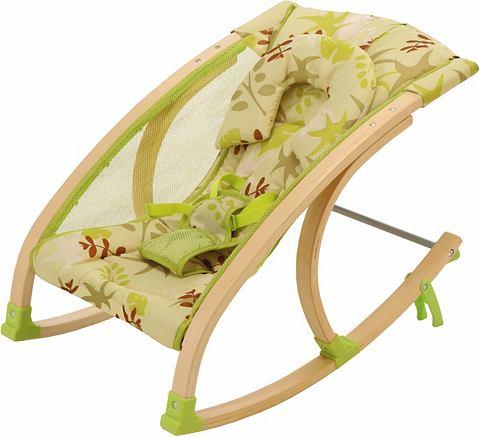 Детское кресло качалка  из дерева 54