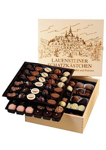 Pralinenspezialitäten, ca. 1300 g, »Original Lauensteiner® Schatzkästchen«, Lauenstein Confiserie