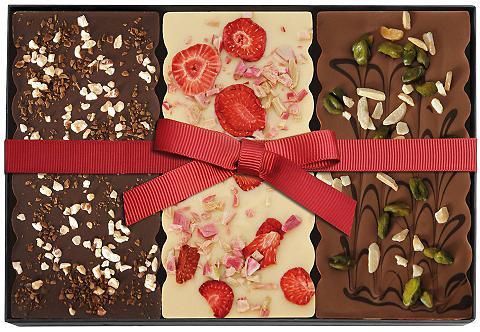Set mit drei bestreuten Schokoladen, DreiMeister®