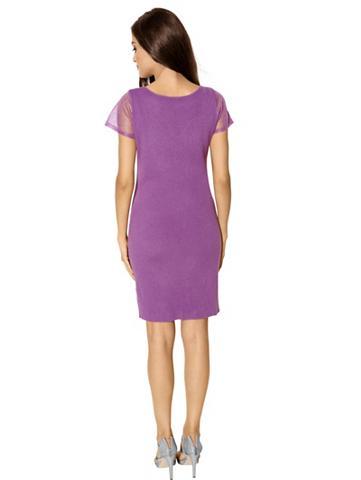 Вязаное платье, ALBA MODA VERDE, ягодный.