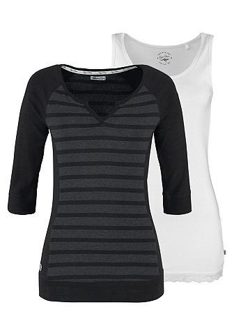 Kanga, ROOS 2-in-1-Shirt (Set, 2 tlg., mit Top)