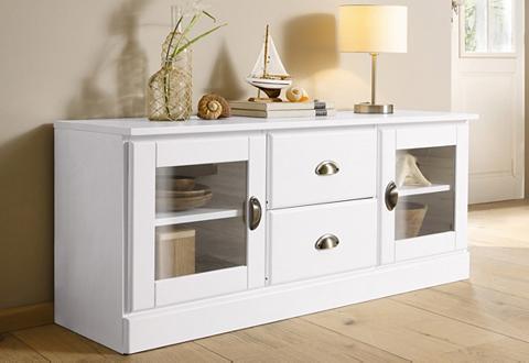 lowboard home affaire breite 100 cm belastbarbeit bis 50 kg. Black Bedroom Furniture Sets. Home Design Ideas