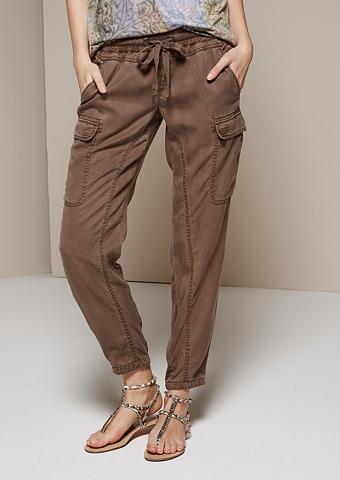 брюки с накладными карманами купить