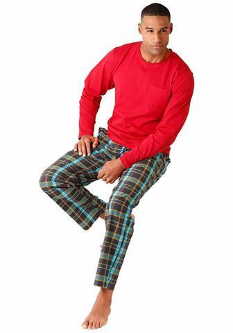 s.Oliver RED LABEL BODYWEAR Pyjama mit Webhose