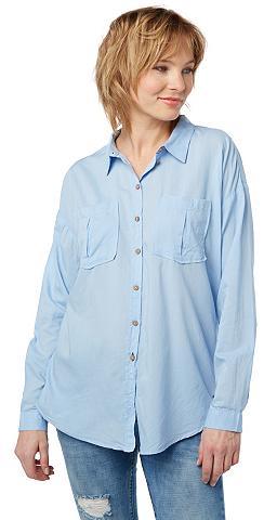 TOM TAILOR DENIM Bluse »Bluse mit Brusttaschen«