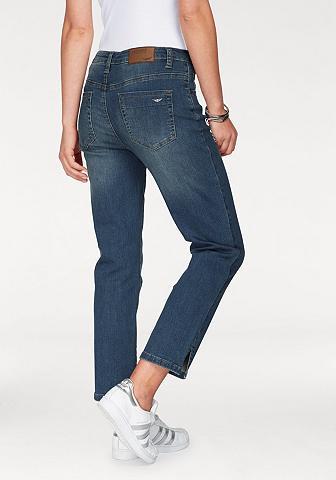 Arizona 7/8-Jeans »seitliche Schlitze am Saum«