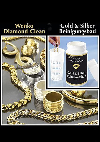 Set: Diamond Clean Gold & Silber Reinigungsbad, Wenko (2tlg.)