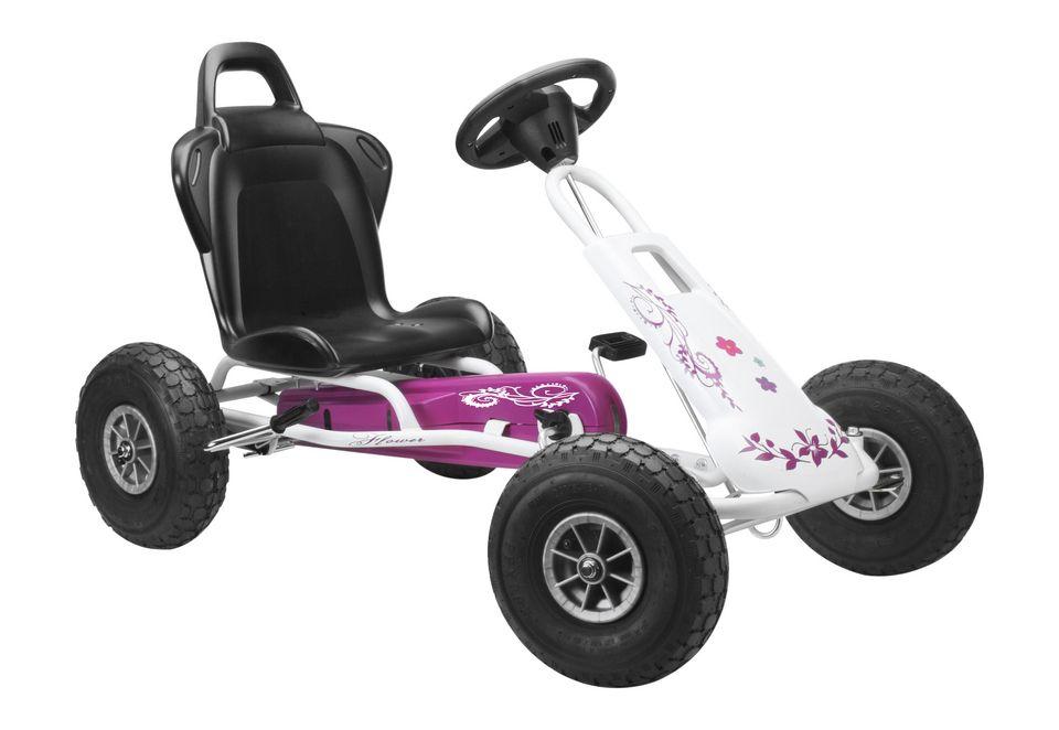 FERBEDO Ferbedo Go-Kart »Air Runner - weiß/pink«
