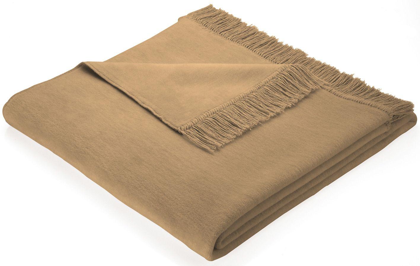 BIEDERLACK Sofaläufer, Biederlack, »Cotton Cover«, mit Fransen versehen