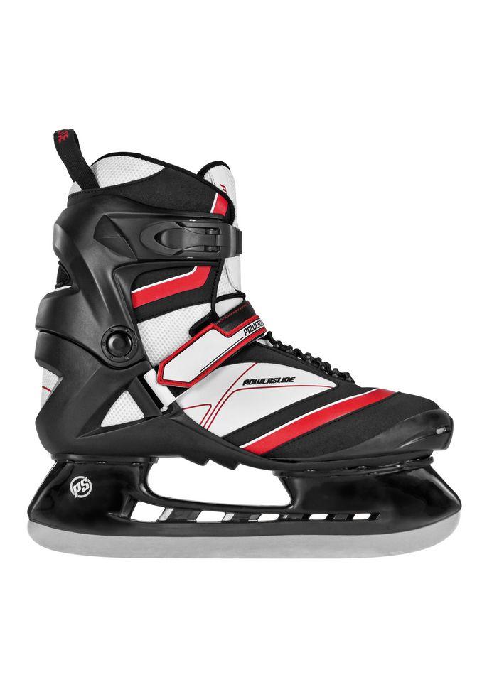 POWERSLIDE Schlittschuh Herren, schwarz-rot, »Thunder Hockey Skate«, Powerslide