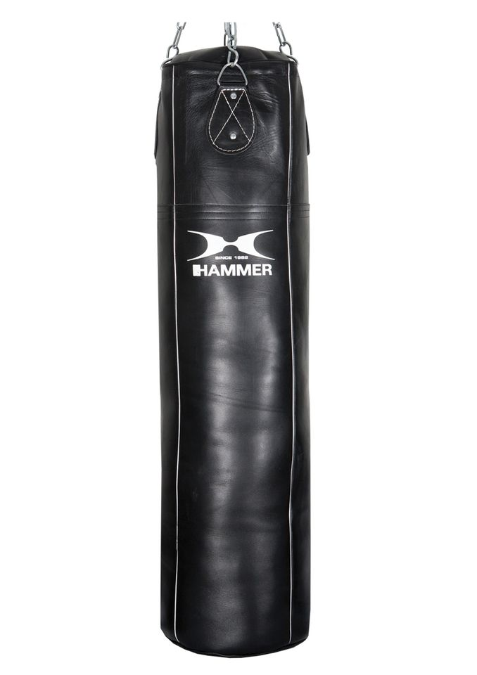 HAMMER Boxsack, Rindsleder, schwarz , »Premium Professional«, Hammer®