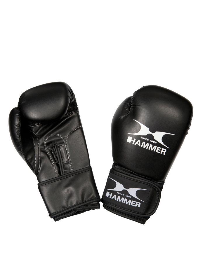 HAMMER Boxhandschuhe Kinder, PU, schwarz, »Blitz«, Hammer®