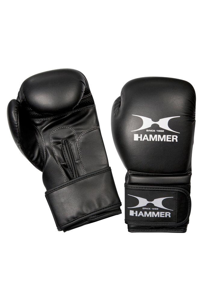 HAMMER Boxhandschuhe, PU, schwarz-weiß, »Premium Training«, Hammer®