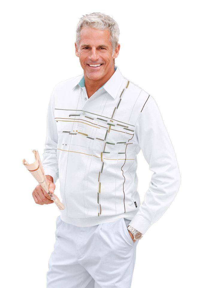 HAJO Hajo Shirt mit grafischem Druck im Vorderteil