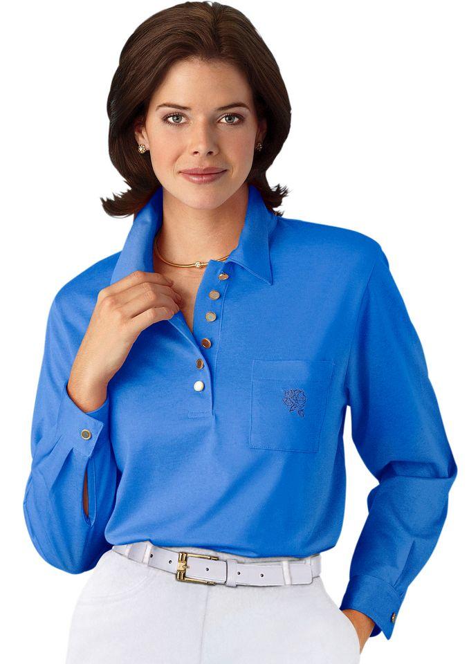 HAJO Hajo Langarm-Poloshirt