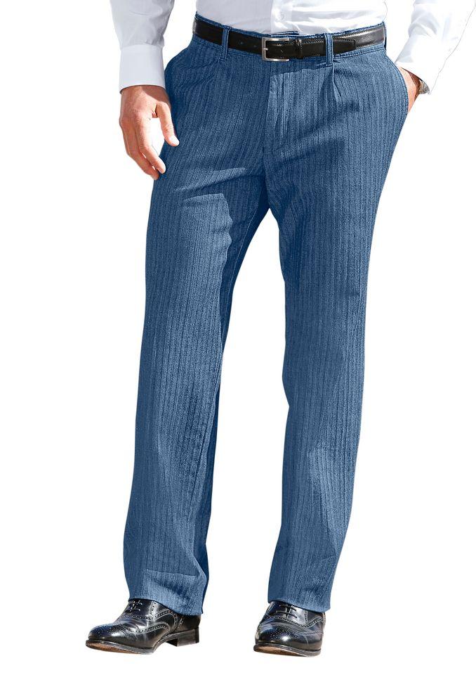 FRANCESCO BOTTI Francesco Botti Jeans mit Bundfalten