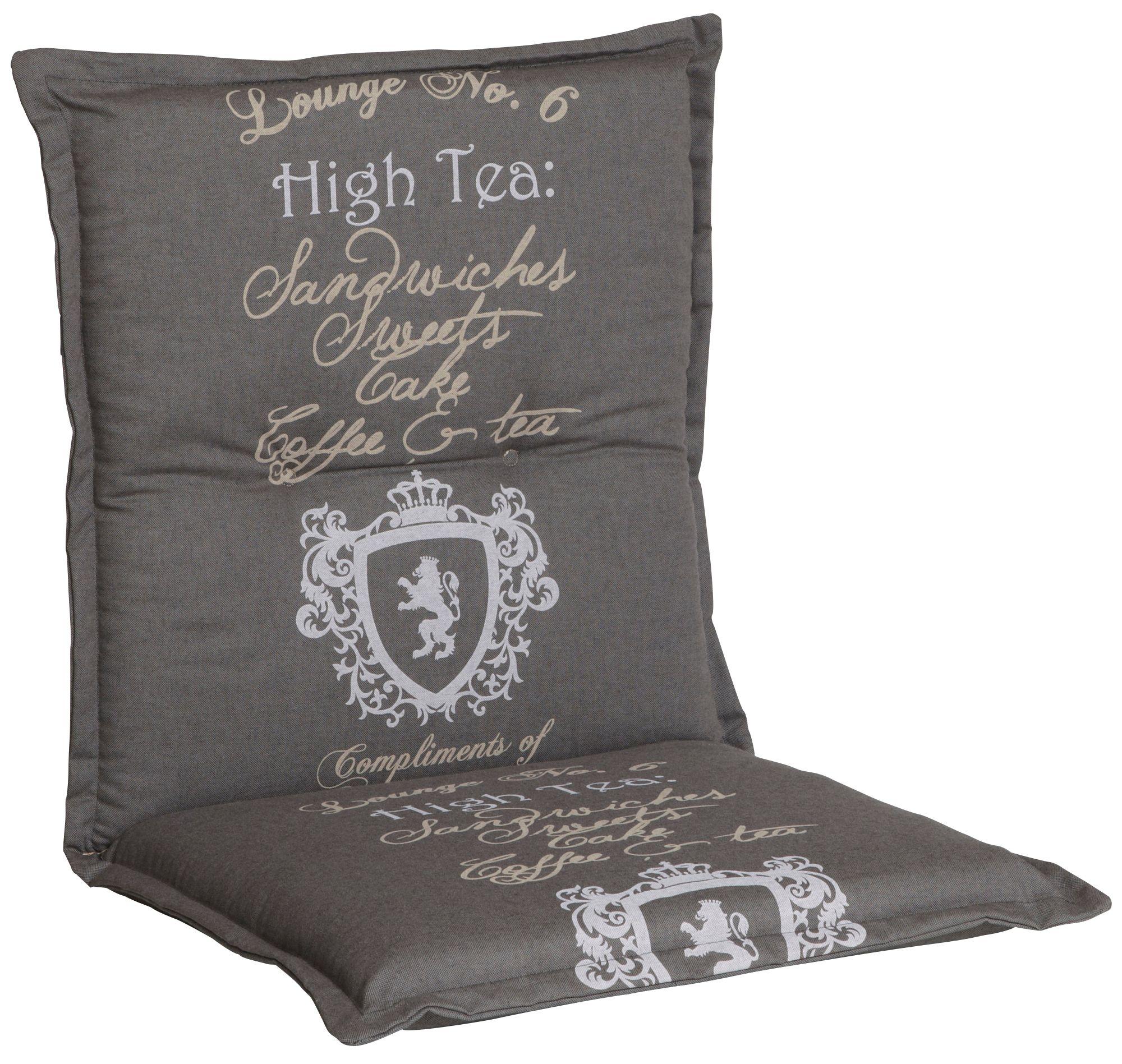 GO DE Go-De Sesselauflage »High Tea«, (L/B): ca. 100x50 cm