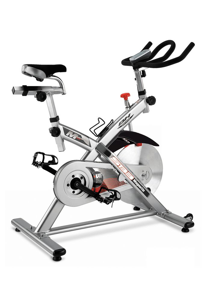 BH FITNESS Indoor Cycle, silber-schwarz, »SB3 Magnetic«, BH-Fitness