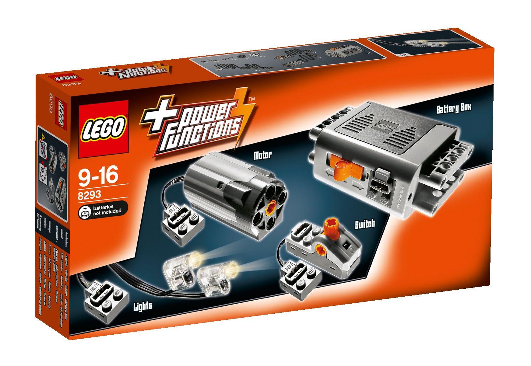 LEGO® 08293 Technic Power Functions Tuning-Set, Konstruktionsspielzeug
