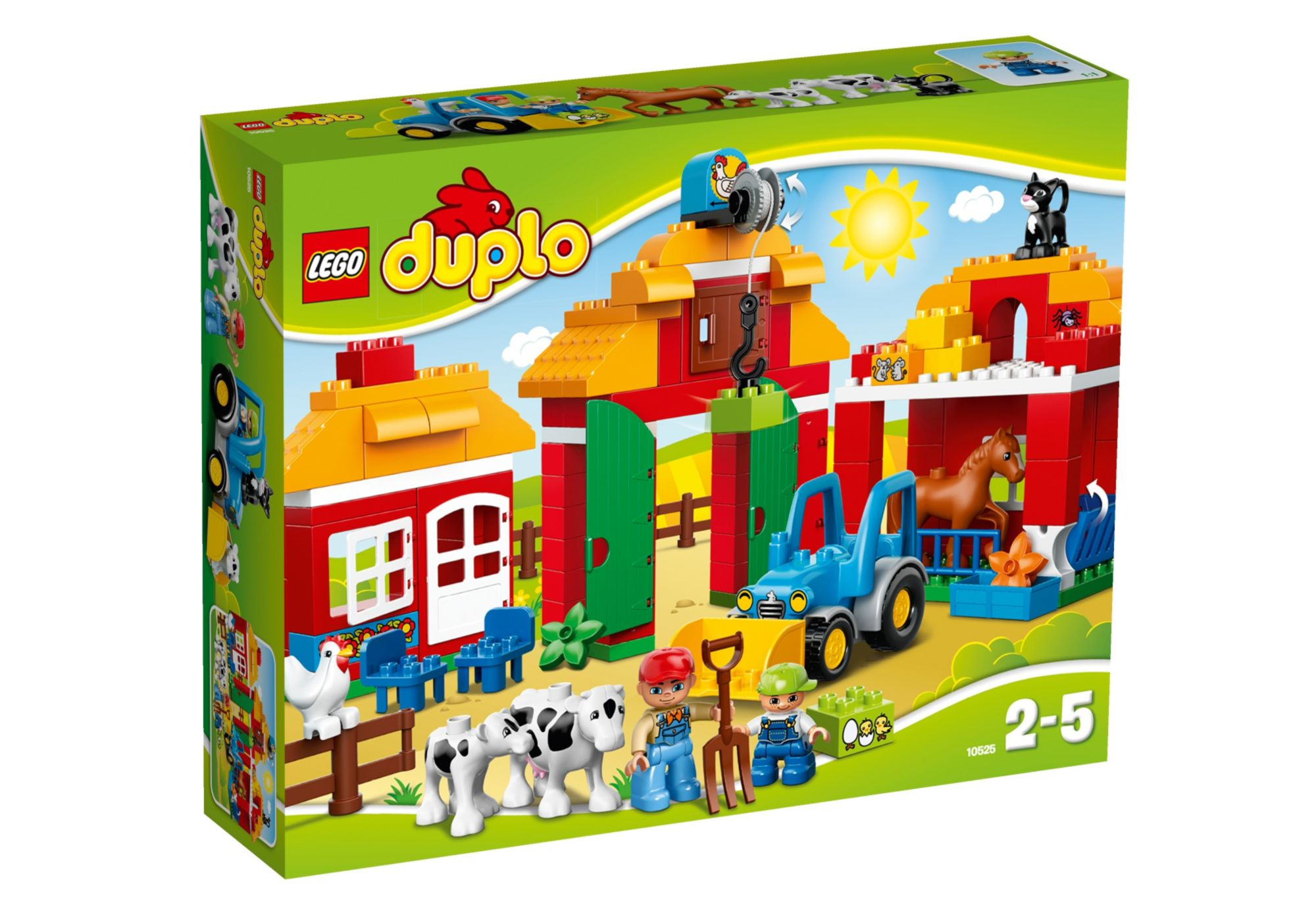 LEGO® 10525 DUPLO Großer Bauernhof, Konstruktionsspielzeug