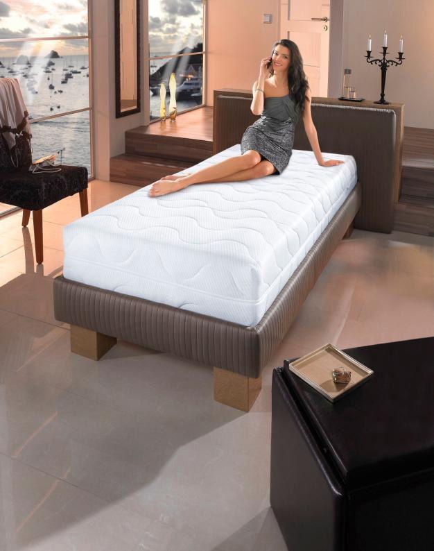 BECO Komfortschaummatratze, »6 Sterne«, BeCo, 30 cm hoch, Raumgewicht: 37, extra hoch und komfortabel - wie im Luxushotel