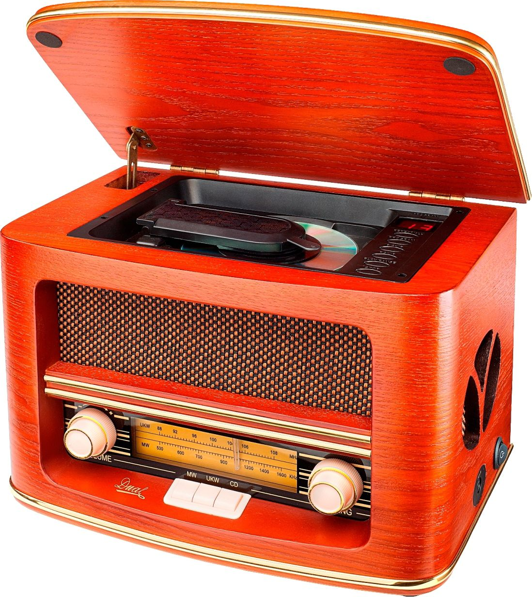 DUAL Dual Nostalgieradio NR1 Kompaktanlage, RDS