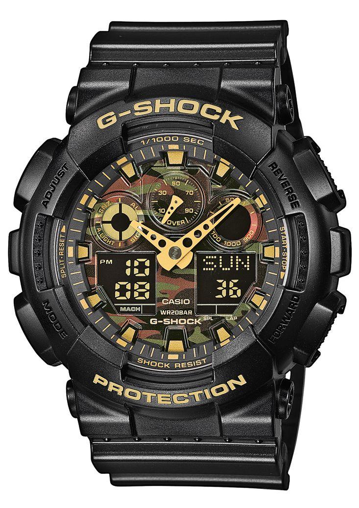 CASIO G SHOCK Casio G-Shock Chronograph »GA-100CF-1A9ER«