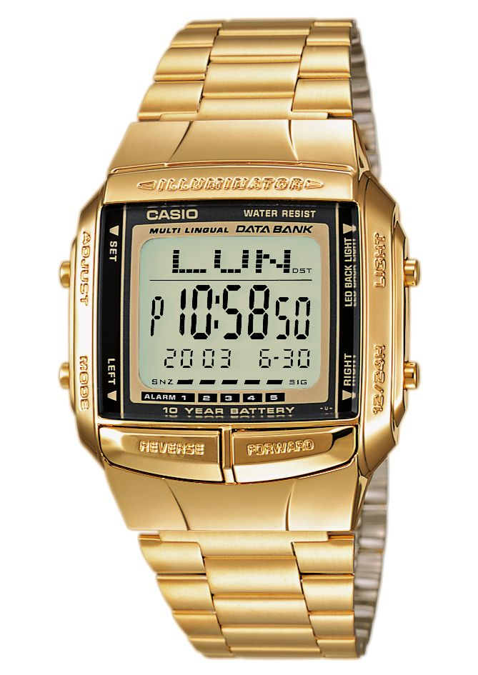 CASIO COLLECTION Casio Collection Chronograph »DB-360GN-9AEF«