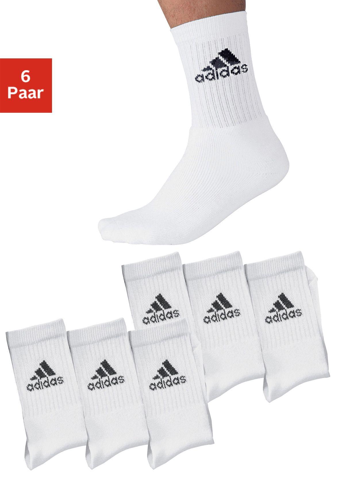 ADIDAS PERFORMANCE adidas Klassische Sportsocken (6 Paar) mit Frottee